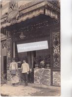 CPA PHOTO - BOUCHERIE MODERNE Maison HENRIOT Ou HENRION à Priori (plaque Ovale Sur La Devanture Lisible) à Situer - Cartes Postales