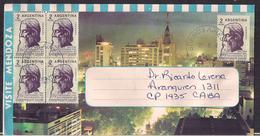 Argentina - 1964 - Lettre - Centenaire De La Naissance De Rabindranath Tagore - Persönlichkeiten