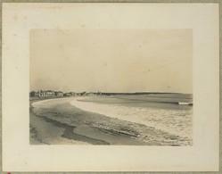 Les Sables D'Olonne (Vendée). Mai 1900. Lames Longues Sur La Plage Devant Notre Chambre. - Places