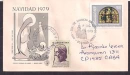 Argentina - 1979 - Lettre - Centenaire De La Naissance De Rabindranath Tagore - Persönlichkeiten