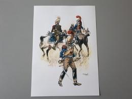 Affiches : Tenue De Campagne Des Carabiniers à Waterloo 1815 - Documenten