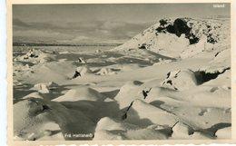 Iceland/Islande/Ijsland Vintage Postcard Hellisheiði Unused - Islande