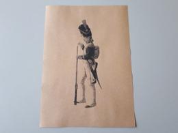 Affiche : Caporal Grenadiers De La Garde Des Consuls 1800 - Documenten
