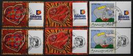 FR. 2006 - Divers N° 3861A/62A/3927A Avec Vignette Différente Oblitérée - Gomme D'Origine - P. Etat - France