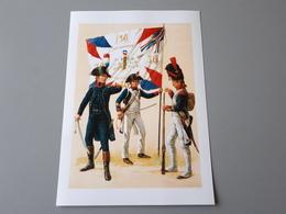 Capitaine D'infanterie Légère, Sergent Major 30ème Demi-brigade, Caporal Grenadier 1800 - Documenten