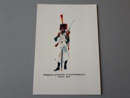 Affiche : Grenadier De La Garde Impériale, Sapeur 1812 - Documenten