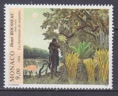 1994Monaco2208Artist / Henri Rousseau3,60 € - Autres