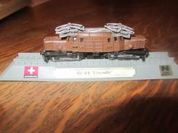 CN41 Locomotive, Ge 6-6 -crocodile, Suisse, 1-160 N, Légérement Déformée - Versieringen