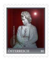 Meine Marke - Ritter Caspar Von Zumbusch (Bildhauer) - Entwurf Zum Ludwig Van Beethoven-Denkmal WIen - Private Stamps