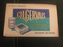 A BUVARD Ancien CH GERVAIS SUISSE - Blotters