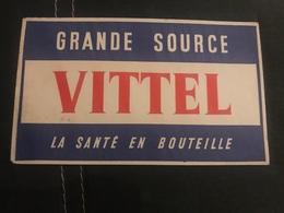 A BUVARD Ancien EAU VITTEL - Blotters