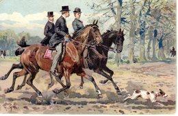 IPPICA - EQUITAZIONE - CAVALLI - PASSEGGIATA A CAVALLO - CHEVAUX - N 000 - Paardensport