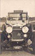 Aviation - Voiture-taxi De L'aérodrome De Lausanne-Blécherette - 1927 - Rarissime Et Superbe - Lot De 2 Cartes - Aérodromes