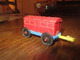 CN46 Wagon En Plastique, Made Italie, 8 Cm - Otras Colecciones