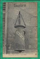 Noyon (60) Signal Contre Les Gaz Asphyxiants Mars 1917 Gasalarm 2scans - Noyon