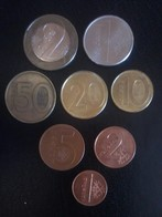 Complete Set Of Belarus Coins, Used - Belarus