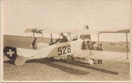 Aviation - Avion Militaire Suisse  Häfeli DH-3 - Lausanne-Blécherette - Beau Document - 1919-1938: Entre Guerres
