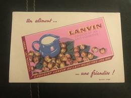 A BUVARD Ancien CHOCOLAT LANVIN - Blotters
