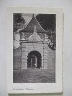 P153 Ansichtkaart Schoonhoven - Veerpoort - 1940 - Schoonhoven