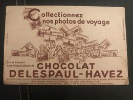 A BUVARD Ancien CHOCOLAT DELESPAUL HAVEZ - Blotters