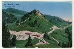 Suisse // Schweiz // Switzerland //  Vaud  //  Bretaye, La Gare - VD Vaud