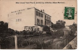 CAP D'ANTIBES - HOTEL GRAND VATEL - VUE DU JARDIN - Francia