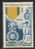 Comores N° 12 * - Unused Stamps