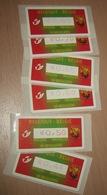 ATM (Automaatzegels) 114A** Opening Brussel 1 De Brouckère / Ouverture Bruxelles 1/  2005 /  Côté 25.00€ Les 6 - Bélgica