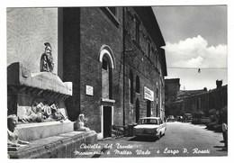 2540 - CIVITELLA DEL TRONTO TERAMO MONUMENTO A MATTEO WADE E LARGO ROSATI 1968 - Italia