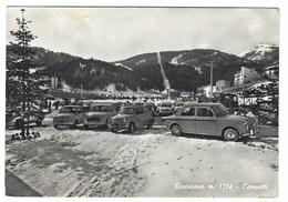 2543 - ROCCARASO L' AQUILA CAMPETTI ANIMATA AUTOMOBILI 1963 - Italia