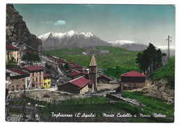 2544 - TAGLIACOZZO L' AQUILA MONTE CASTELLO E MONTE VELINO 1962 - Italia