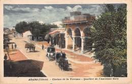 CPA ADANA ( Cilicie ) - Cinéma De La Terrasse - Quartier De L' Ancienne Gare - Türkei