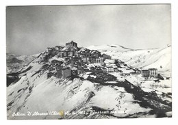 2545 - SCHIAVI D' ABRUZZO CHIETI PANORAMA CON NEVE 1967 - Italia