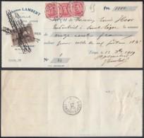 Belgique 1919- Reçu De Liège .......................   (EB) DC6348 - Belgio