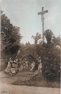 35 - BILLÉ - Le Calvaire - Cpa - Vierge  - - Francia