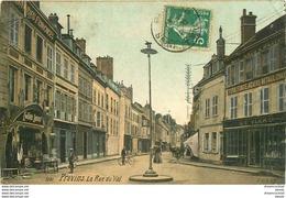 Promotion 2 Cpa 77 PROVINS. Rue Du Val Et Promenades Remparts. Cartes écrites à Mm Chalmeau - Provins