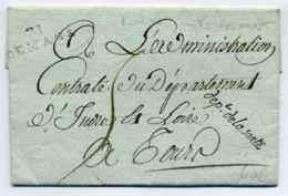 71 LE MANS + Contreseing Dept De La Sarthe / Texte Relatif à La Mise En Place De Marchés Et Foires / AN 6 - 1701-1800: Precursori XVIII