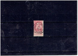 NR58  Obliteration Relais De HEUSDEN(FLANDRE)cote 50€ Cat Coba - Marcofilia