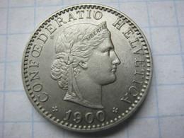 20 Rappen 1900 - Zwitserland