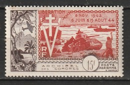 Comores Poste Aérienne N° 4 ** - Comoro Islands (1950-1975)