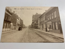 La Panne  Routes Royale Et De Furnes - De Panne