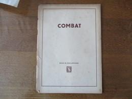 ECOLE DE SOUS-OFFICIERS STRASBOURG ROUFFACH COMBAT (COURS) - Documenten