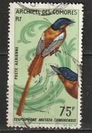 Comores Poste Aérienne N° 20 Oiseau - Comoro Islands (1950-1975)