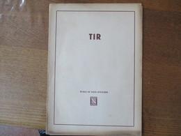 ECOLE DE SOUS-OFFICIERS STRASBOURG ROUFFACH TIR (COURS) - Documenten