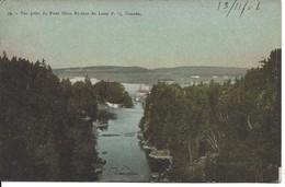 1906 - Vue Prise Du Pont Dion, Rivière-du-Loup, Québec, S. Belle Éditeur (19.316) - Quebec