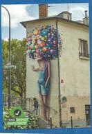 CPM Paris X Fresque La Baguenaude De Paris Artiste Vinie - Editée Par La Mairie De Paris Série Budjet Participatif - District 10