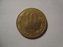 MONNAIE CHILI 10 PESOS 1998 - Chile