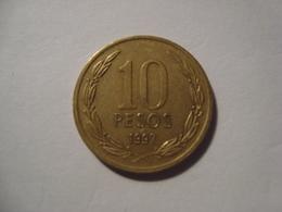 MONNAIE CHILI 10 PESOS 1997 - Chile