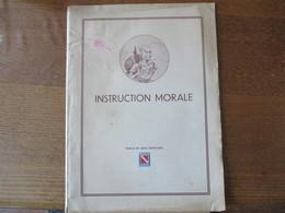 ECOLE DE SOUS-OFFICIERS STRASBOURG ROUFFACH INSTRUCTION MORALE (COURS) - Documenten