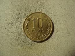 MONNAIE CHILI 10 PESOS 1996 - Chile
